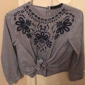Beautiful zara blouse size XS